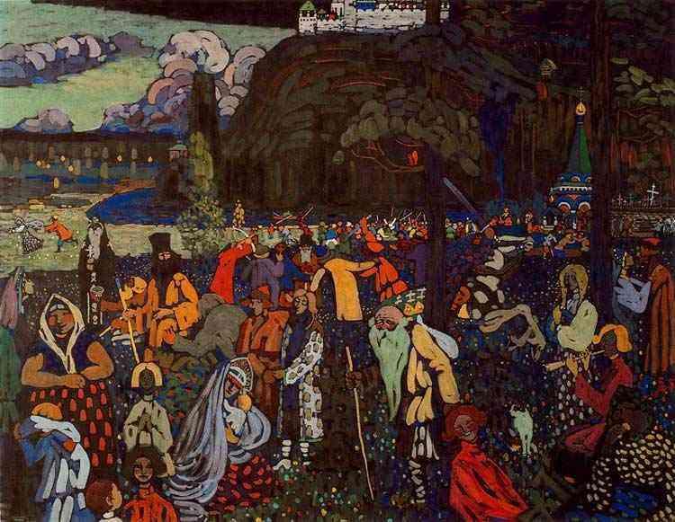 Wassily Kandinsky - Vida colorida