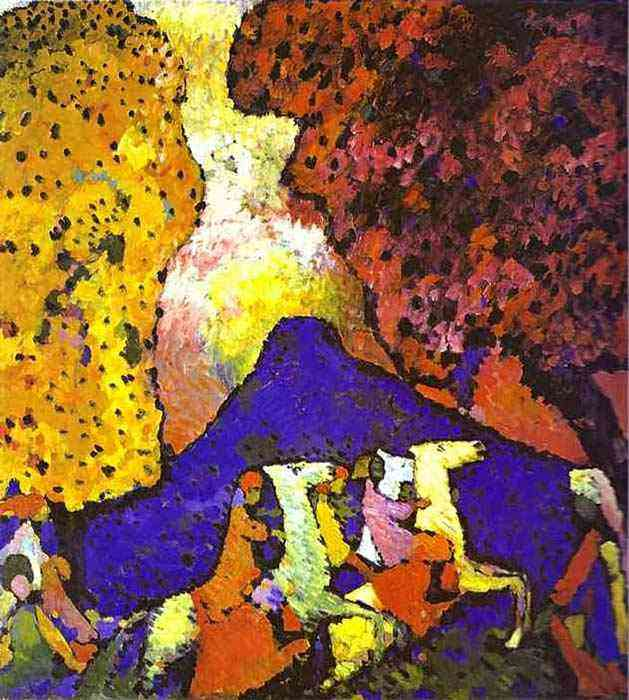Wassily Kandinsky - A montanha azul
