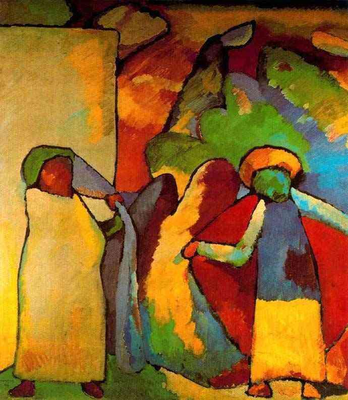 Wassily Kandinsky - Improvisação VI