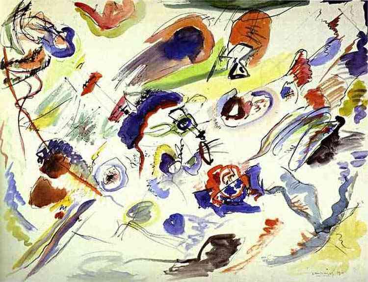 Wassily Kandinsky - Primeira aquarela abstrata