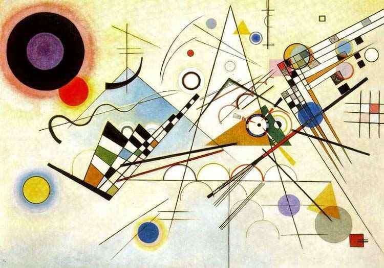 Wassily Kandinsky - Composição VIII