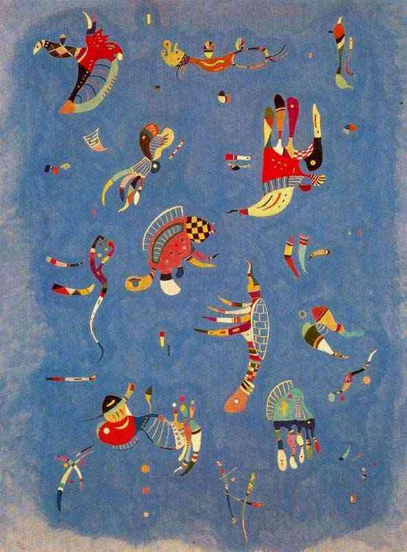 Wassily Kandinsky - Azul celeste
