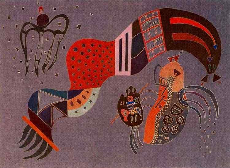Wassily Kandinsky - Ímpeto moderado